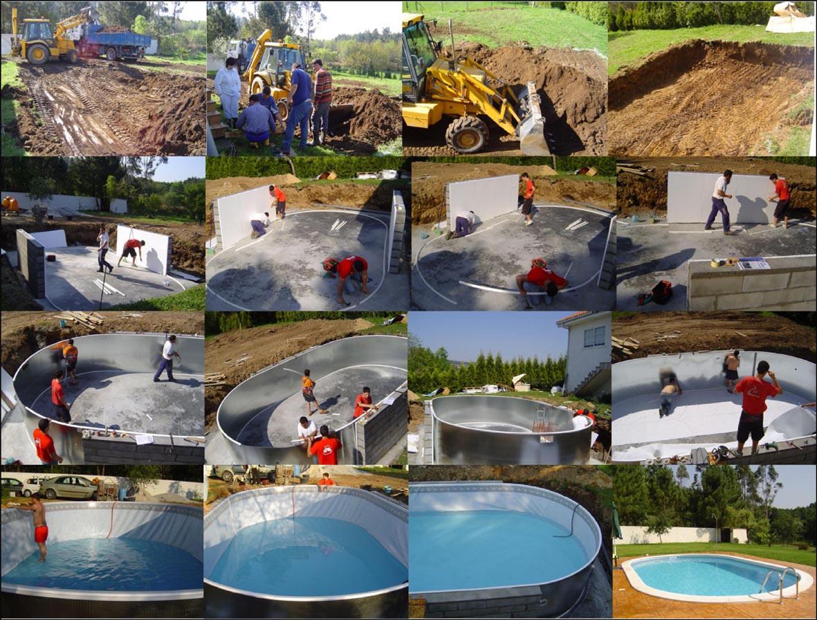 Informaci n para montar una piscina prefabricada habitissimo - Piscinas de montar ...