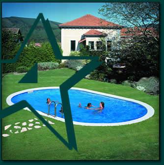 Starpool piscinas sobre suelo piscinas en kit piscinas - Suelo para piscina desmontable ...