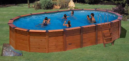 Piscinas sobre suelo sistema de seguridad automtico for Cubre piscinas desmontables